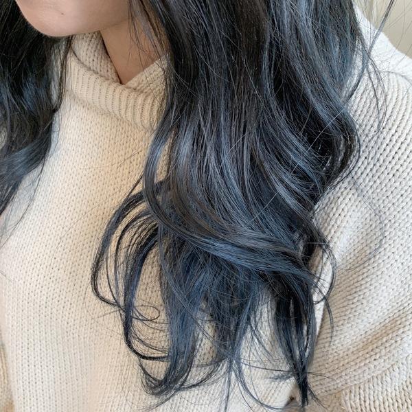 冬のヘアスタイル